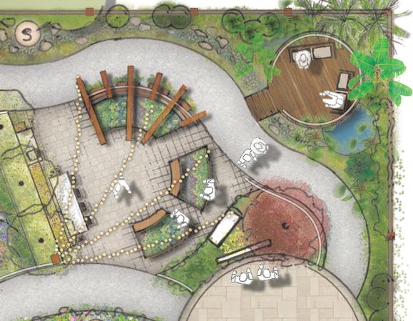 Alzheimer's Australia Memory Garden Design | symstudio.com